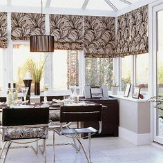 Modern monochrome conservatory | Conservatory designs