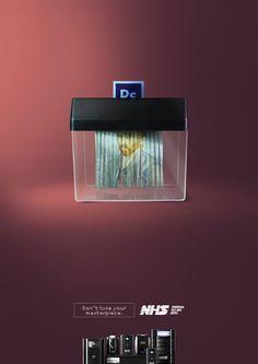 Adeevee - NHS Uninterruptible power supplies UPS: Don't lose your masterpiece