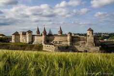 Kamyanets-Podilsky Fortress Kamyanets-Podilsky Ukraine Anyone looking for a medieval town in Europe with hardly any tourists in it? Look no further than the Ukraine Kamyanets-Podilsky is waiting to be discovered! #ukraine #easterneurope #travel #ukrainian #castle