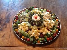 Cheese party platter.