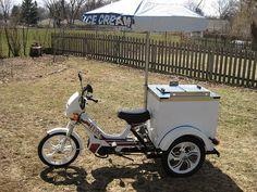 1995 Tomos Targa Ice Cream Moped | Flickr - Photo Sharing!