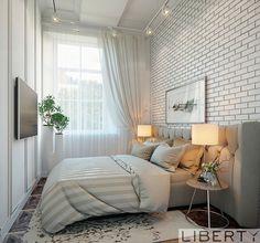 Дизайн интерьера 0(555)290011 ☎️ белая спальня в нашем исполнение