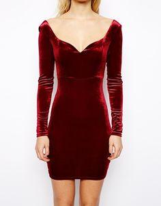 vestidos de terciopelo cortos - Google Search