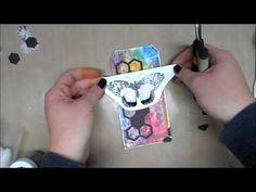 Mixed Media Art Tag - YouTube