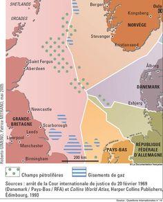 Le partage du plateau continental de la mer du Nord en 2005
