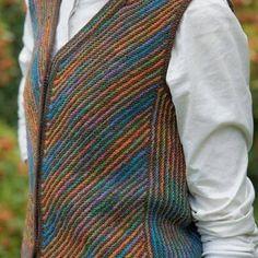Ravelry: Lakemoor Vest pattern by Jann Hoppler Designer Knitting Patterns, Christmas Knitting Patterns, Easy Knitting Patterns, Arm Knitting, Knitting Designs, Crochet Patterns, Knit Vest Pattern, Dress Gloves, Yarn Brands