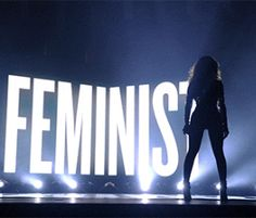 Beyonce's Divine Feminism at the VMAs by Deb Rox - can I get this on EVERYTHING?! I want the t-shirt, the mug, the mousepad, the tote bag, the coasters...
