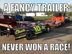 Very few dirt track racers have nice trailers most use this type Race Car Quotes, Racing Quotes, Nascar Quotes, Track Quotes, Porsche, Audi, Triumph Motorcycles, Harley Davidson Motorcycles, Custom Motorcycles