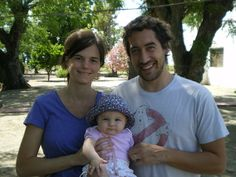 En el campo con mamá y papá