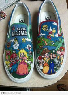 Mario Shoes DIY
