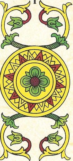 Arcano Menor - Ás de Ouros invertido Carta Tarot para 13-10-2014 Hoje as energias estão mais propícias para as coisas relacionadas com a terra. Tenha em at