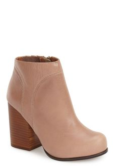 The minimalist-chic style of these chunky Jeffrey Campbell ankle booties makes them perfect for everyday wear.