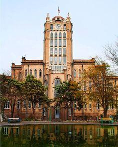 Sa'at Tower (Tabriz Municipality Palace), Tabriz, East Azarbaijan Province, Iran