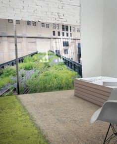 Inspired by people's instinctive love of nature, leading carpet tile manufacturer Interface introduces Urban Retreat, its newest collection of modular « green » carpet tiles.