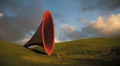 Discover the amazing sculptures of Gibbs Farm in New Zealand. Truly magnificent. This one is by Anish Kapoor.