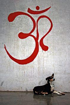 Om; Pushkar - Rajasthan, India