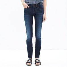 skinny skinny jeans in lakeshore wash - madewell
