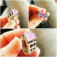 Hey, I found this really awesome Etsy listing at https://www.etsy.com/listing/510930251/deer-antler-ring-with-10mm-lavender-cz