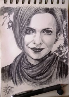 Check out this item in my Etsy shop https://www.etsy.com/listing/255194425/custom-portrait-pencil