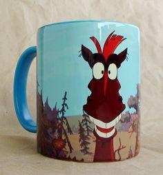 """Чашка """"Конь Юлий"""" 350 мл, керамика, сублимационная печать."""