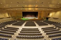 Apopka High School Auditorium for Skanska USA ©Macbethphoto.com