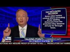 Bill O'Reilly Talking Points:  Inclusion Delusion 11/14/16