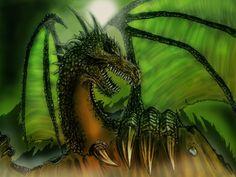 Poison Dragon by Tiwyll
