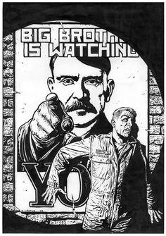 Essays On 1984 Orwell Delia Mireles Big Brother
