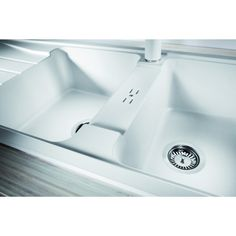 CHIUVETA DE BUCATARIE BLANCO SONA 8 S SILGRANIT GRI PERLAT REVERSIBILA INCORPORABILA - Iak Sink, Bathtub, Bathroom, Home Decor, Sink Tops, Standing Bath, Washroom, Vessel Sink, Bathtubs
