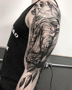 Rhino tattoo fredao oliveira