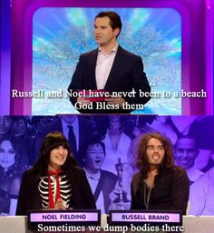 Noel and Russell: Goth detectives!