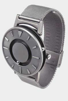 the bradley - beautiful watch enabling visually impaired people to tell the time in style