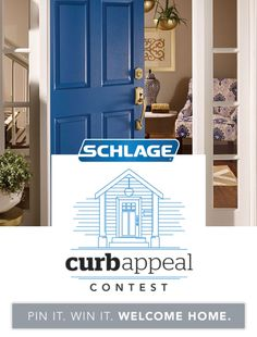 Could your curb appeal use a facelift? Enter the Schlage Curb Appeal Contest for… #CurbAppealContest
