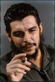 Ernesto Che Guevara - I colori di Elliott Erwitt - Internazionale #personaggi #storia #politica