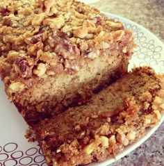 Simple Nutrients: Banana Bread with Walnut Crumble Topping