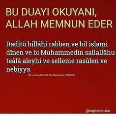 Amin... ANLAM Motivation, Sayings, Allah Islam, Istanbul, Places, Flowers, Beautiful, Instagram, Amigurumi