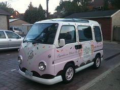WCS Cupcake Truck! So cute www.theweddingcakeshoppe.com