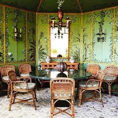 pierre berge's garden pavilion in villa mambrouka tangier reinstalled in 2017 Dreamland, Yves Saint Laurent, Magical Room, Pavillion, Diy Terrasse, Garden Pavilion, Villa, Second Empire, World Of Interiors