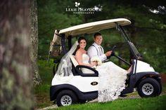 Bride & Groom Golf Course Wedding