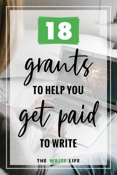 Get Paid to Write: 14 Great Grants for Writers Grant Proposal Writing, Grant Writing, Writing Help, Writing Tips, Writing Websites, Writing Goals, Writing Resources, Writing Skills, Journal Writing Prompts