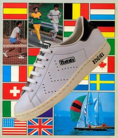 Old school Pro Champs 1970s vintage sneakers @ The Freakin