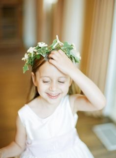 Cute flower girl: http://www.stylemepretty.com/washington-dc-weddings/2014/10/02/georgetown-summer-day-wedding/ | Photography: Sweet Tea Photography - http://www.sweetteaphotographybylisamarie.com/