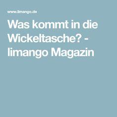 Was kommt in die Wickeltasche? - limango Magazin