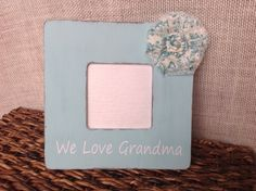 Personalized Mother's Day picture frame by BrecksCountryDesigns