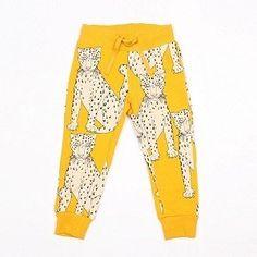 Mini Rodini Snow Leopard Sweatpants ($53)
