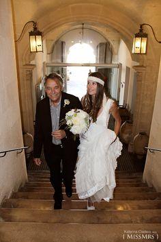 { MissMrs } mucho más que una boda  Ceremonia civil. El padre de la novia.