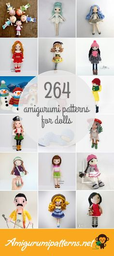 Amigurumi Patterns For Dolls