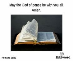 Romans 15, Peace, God, Dios, Allah, Sobriety, The Lord, World