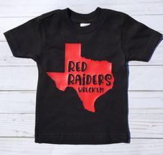 Toddler Tops/Red Raiders/Texas Tech/Boy or Girl Shirt/gender neutral/College Football/Spirit Shirt/Wreck'em/Red and Black by sunnyvilledesigns on Etsy Toddler Boy Gifts, Toddler Boys, Baby Outfits Newborn, Baby Boy Outfits, Football Baby Shower, Football Spirit, First Birthday Outfit Girl, Baby Girl Tutu, Spirit Shirts