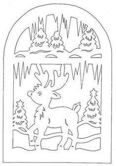 scroll saw deer